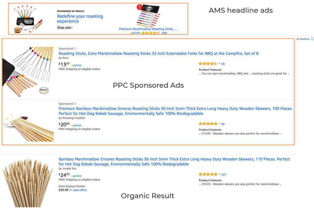 amazon advertising example