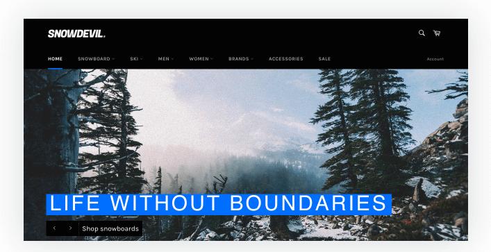 venture shopify theme